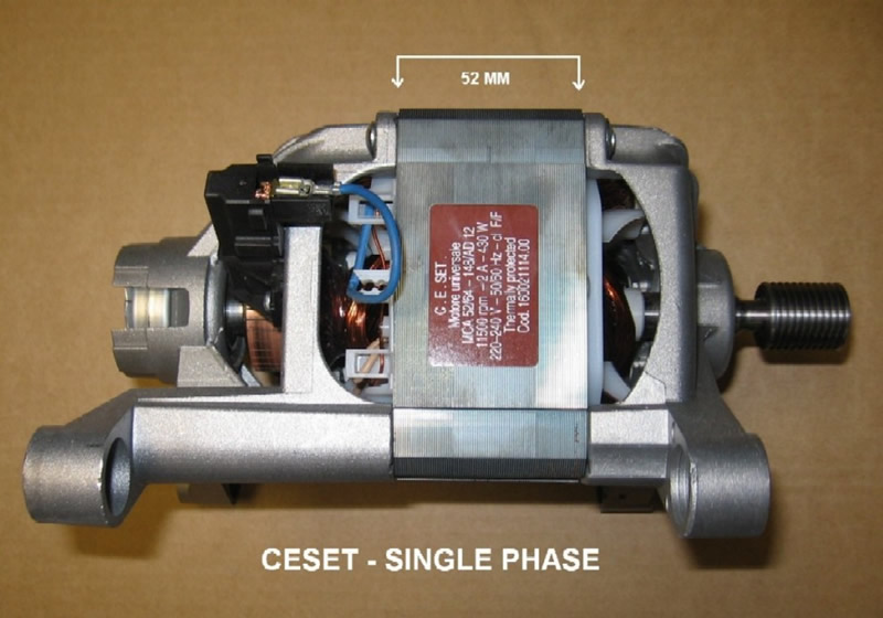 MOTOR 1400RPM (52MM-STACK)