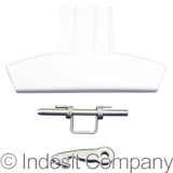 DOOR HANDLE KIT - INDESIT BLACK